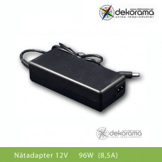 LED Nätadapter 96W (8A) 12VDC IP20