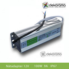 LED Nätadapter 100W (8,3A) 12VDC IP67